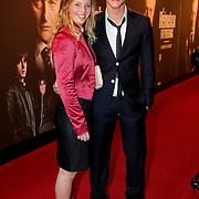 NLD/Amsterdam/20111017 - Premiere De Heineken Ontvoering, Ferry Doedens en een vriendin Tryntje