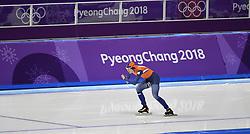12-02-2018 SCHAATSEN: OLYMPISCHE SPELEN: OLYMPIC GAMES: PYEONGCHANG 2018<br /> Marrit Leenstra op de 1500 meter<br /> <br /> Foto: Soenar Chamid