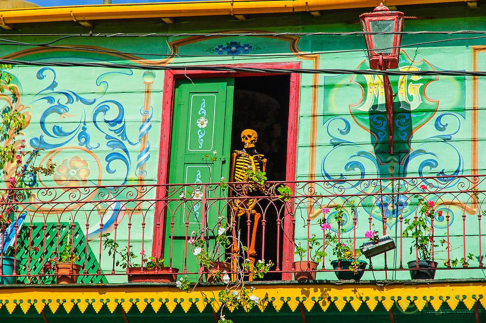Smoking kills, Caminito Street, La Boca Buenos Aires, Argentina