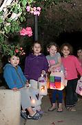Chanuka (Jewish Festival of light) celebrations at Kibbutz Ashdot Yaacov, Israel