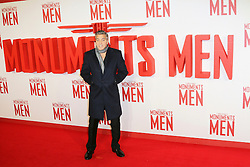 © Licensed to London News Pictures. 11/02/2014, UK. George Clooney, Odeon Leicester Square, London UK, 11 February 2014. Photo credit : Richard Goldschmidt/Piqtured/LNP