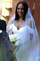 Cheryl Burke at her wedding to Matthew Lawrence in San Diego - 23 May 2019