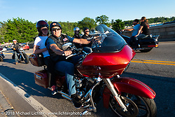 Weirs Beach during Laconia Motorcycle Week. NH, USA. Saturday, June 16, 2018. Photography ©2018 Michael Lichter.