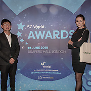 Oppo teams attend 5G Awards ceremony at Drapers' Hall, on 12 June 2019, London, UK.