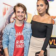 NLD/Hilversum/20171019 - Film premiere  Pestkop, Ralph Mackenbach en Rachel Traets