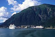 Cruise ships, Juneau, Alaska<br />