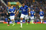 Ashley Williams of Everton in action. Premier league match, Everton v West Bromwich Albion at Goodison Park in Liverpool, Merseyside on Saturday 11th March 2017.<br /> pic by Chris Stading, Andrew Orchard sports photography.