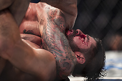 September 16, 2017 - Pittsburgh, Pennsylvania, USA - September 16, 2017: Gregor Gillespie defeats Jason Gonzalez by submission during UFC Fight Night at PPG Paints Arena in Pittsburgh, Pennsylvania. (Credit Image: © Scott Taetsch via ZUMA Wire)