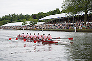 Henley Royal Regatta, Henley on Thames, Oxfordshire, 3-7 July 2013.  Wednesday  15:06:29   03/07/2013  [Mandatory Credit/Intersport Images]<br /> <br /> Rowing, Henley Reach, Henley Royal Regatta.<br /> <br /> The Thames Challenge Cup<br />  Kingston Rowing Club 'B'