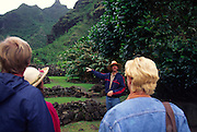 Limahuli Gardens, Haena, Kauai, Hawaii, USA (editorial use only, no model release)<br />