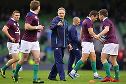 Ireland head coach Joe Schmidt - Mandatory by-line: Ken Sutton/JMP - 18/03/2017 - RUGBY - Aviva Stadium - Dublin,  - Ireland v England - RBS 6 Nations