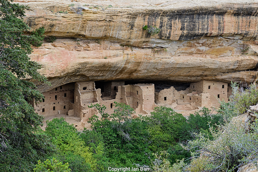 Spruce Tree House,Cliff dwellings,Mesa Verde National Park.