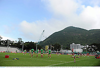 29 May 2013; British & Irish Lions during squad training ahead of their game against Barbarian FC on Saturday. British & Irish Lions Tour 2013, Squad Training, Aberdeen Sports Ground, Hong Kong, China. Picture credit: Stephen McCarthy / SPORTSFILE