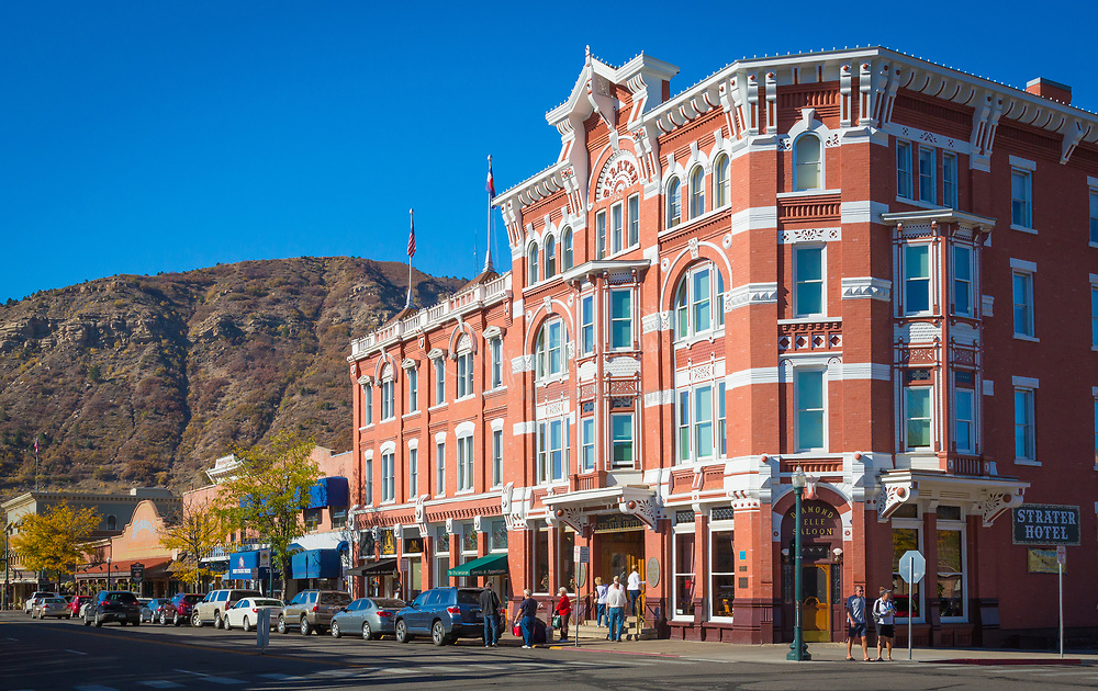 The Strater Hotel in Durango, Colorado. The City of Durango is a Home Rule Municipality that is the county seat and the most populous city of La Plata County, Colorado, United States.[6] The United States Census Bureau reported a population of 16,887 in the 2010 census.