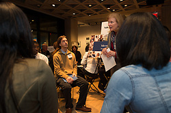 New Haven Promise Yale Internship Fair at the Yale Art Gallery. 9 January 2014.