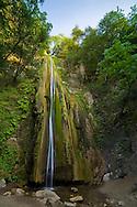Nojoqui Falls, waterfall near Solvang, Santa Barbara County, California