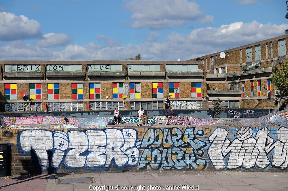 Brixton Skate Park for skateboarding South London