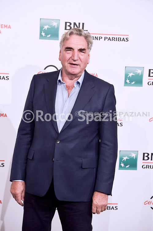 """ROME, ITALY - OCTOBER 19: Jim Carter  attend the photocall of the movie """"Downton Abbey"""" during the 14th Rome Film Festival on October 19, 2019 in Rome, Italy"""