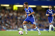 Eden Hazard of Chelsea in action. EFL Cup 2nd round match, Chelsea v Bristol Rovers at Stamford Bridge in London on Tuesday 23rd August 2016.<br /> pic by John Patrick Fletcher, Andrew Orchard sports photography.