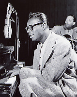 1958 Nat King Cole recording at Capitol Records in Hollywood