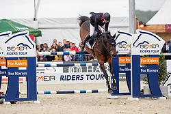 BRINKMANN Markus (GER), Pikeur Dylon<br /> Hagen - Horses and Dreams 2019<br /> Großer Preis der Deutschen Kreditbank AG- BEMER RIDERS TOUR - Wertungsprüfung - CSI4* Grand Prix Two Rounds<br /> 28. April 2019<br /> © www.sportfotos-lafrentz.de/Stefan Lafrentz
