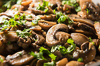 Sautéed Muschrooms with garlic, parsley and white wine.