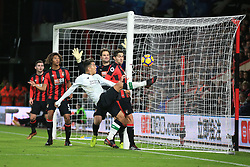 17 December 2017 -  Premier League - AFC Bournemouth v Liverpool - Roberto Firmino of Liverpool hooks the ball across for Dejan Lovren to score their 2nd goal - Photo: Marc Atkins/Offside