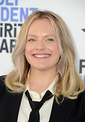 Elisabeth Moss at the 35th Annual Film Independent Spirit Awards held at the Santa Monica Beach in Santa Monica, USA on February 8, 2020.