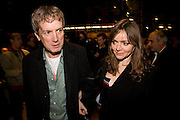 FRANK SKINNER AND CATHY MASON, INTO THE HOODS - a hip hop dance musical -opening  at the Novello Theatre on The Aldwych. After- party at TAMARAI at 167 Drury Lane, London. 27 March 2008.   *** Local Caption *** -DO NOT ARCHIVE-© Copyright Photograph by Dafydd Jones. 248 Clapham Rd. London SW9 0PZ. Tel 0207 820 0771. www.dafjones.com.