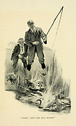 Out Fishing From the Book '  Medley of sport ' by Durham, J. M. M. B Published by Gibbings, London in 1910
