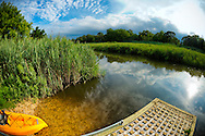 Fisheye photos at Norman J. Levy Park and Preserve, on July 31, 2012, in South Merrick, Long Island, New York, USA