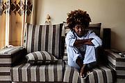 All'interno di un nuovo appartamento, Addis Ababa 9 settembre 2014.  Christian Mantuano / OneShot <br /> <br /> Inside a new city apartment, Addis Ababa September 9, 2014.
