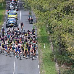 29-08-2018: Wielrennen: Ladies Tour: Nijmegen<br /> Peloton op de Zevenheuvelenweg