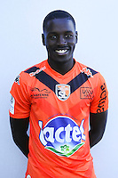 Modibo Dembele of Laval during Laval squad photo call for the 2016-2017 Ligue 2 season on September, 7 2016 in Laval, France ( Photo by Philippe Le Brech / Icon Sport )