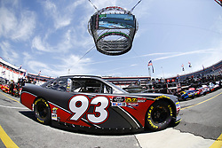 April 13, 2018 - Bristol, Tennessee, United States of America - April 13, 2018 - Bristol, Tennessee, USA: Jeff Green (93) drives his car under Colossus TV during opening practice for the Fitzgerald Glider Kits 300 at Bristol Motor Speedway in Bristol, Tennessee. (Credit Image: © Chris Owens Asp Inc/ASP via ZUMA Wire)