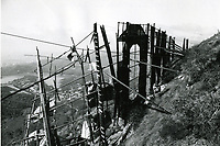 1978? Hollywood sign in disrepair