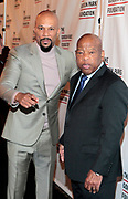 New York, New York- June 6: (L-R) Recording Artist/Actor Common and U.S. Congressman John Lewis attend the 2017 Gordon Parks Foundation Awards Dinner celebrating the Arts & Humanitarianism held at Cipriani 42nd Street on June 6, 2017 in New York City.   (Photo by Terrence Jennings/terrencejennings.com)