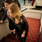 People enter the Wilmington Theater Awards at Thursday January 23, 2014 at Thalian Hall. (Jason A. Frizzelle)