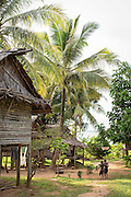 Children in Togum Village, Lake Murray, Middle Fly District, Western Province, Papua New Guinea