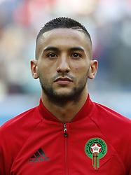 Hakim Ziyach of Morocco