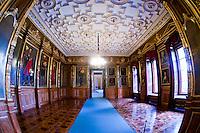 Ancestral Portrait Gallery, Schloss Schwerin (castle), Schwerin, Mecklenburg-West Pomerania, Germany