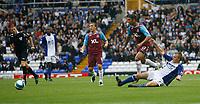 Photo: Steve Bond.<br />Birmingham City v West Ham United. The FA Barclays Premiership. 18/08/2007. Haydon Mullins (17 left) comes away with the ball