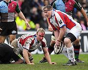 Twickenham, GREAT BRITAIN, during the Guinness Premieship match, NEC Harlequins vs Bristol Rugby, at the Twickenham Stoop Stadium, England, on Sat 24.02.2007  [Photo, Peter Spurrier/Intersport-images].....