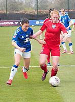 Everton Ladies V Durham Ladies, WSL Cup, match played at Walton Hall Park. 18.04.2021