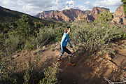 SHOT 8/6/17 7:17:00 PM - UOT Tourism photos of Brian Head and Cedar City, Utah. Images include riding Brian Head Resort in Brian Head, Utah; exploring Cedar Breaks National Monument, hiking Kolob Canyons in Zion National Park and mountain biking the Lava Flow Trail in Cedar City, Utah. (Photo by Marc Piscotty / © 2017)