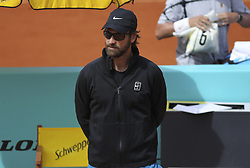 May 7, 2019 - Madrid, MADRID, SPAIN - Carlos Moya (ESP) during the Mutua Madrid Open 2019 (ATP Masters 1000 and WTA Premier) tenis tournament at Caja Magica in Madrid, Spain, on May 07, 2019. (Credit Image: © AFP7 via ZUMA Wire)