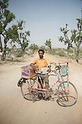 Good luck charm salesman - Rajasthan, India