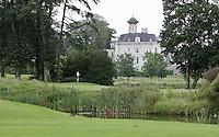 STAFFAN (Ierland) - K CLUB bij Dublin, de golfbaan waar in 2006 de Ryder Cub wordt gespeeld. Hole 17.