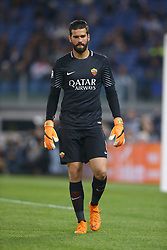 May 13, 2018 - Rome, Italy - Alisson Becker of Roma at Olimpico Stadium in Rome, Italy on May 13, 2018 during Serie A match between AS Roma and Juventus. (Credit Image: © Matteo Ciambelli/NurPhoto via ZUMA Press)