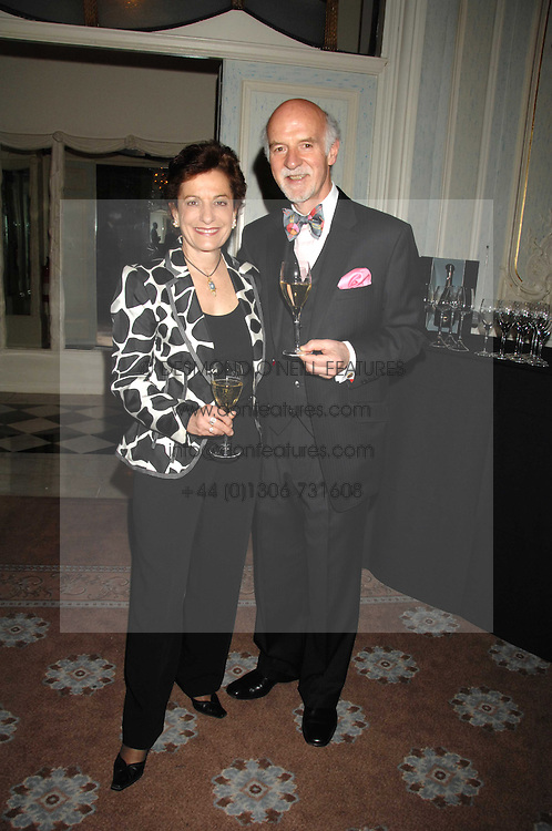 MR & MRS ANTON MOSIMANN at a dinner to celebrate the launch of the Dom Ruinart 1998 vinatage champage at Claridge's, Brook Street, London W1 on 23rd April 2008.<br /><br />NON EXCLUSIVE - WORLD RIGHTS